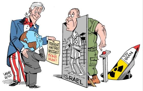 Zapobież holokaustowi, zbombarduj Iran!