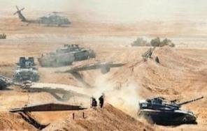 An IDF drill in the Negev
