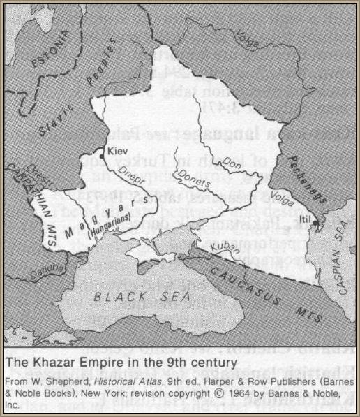 Chazaria IX wiek