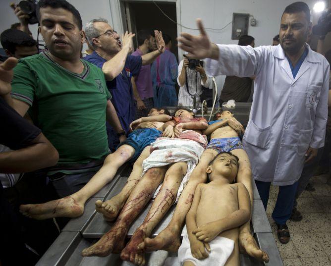 Znalezione obrazy dla zapytania zamordowane palestynskie dzieci