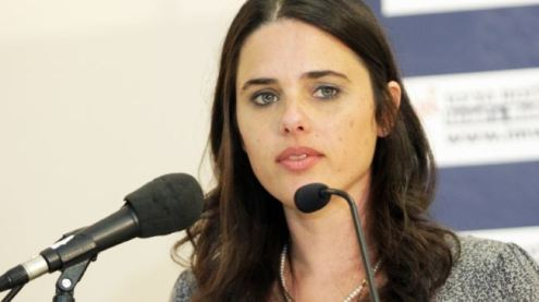 Israeli lawmaker Ayelet Shaked