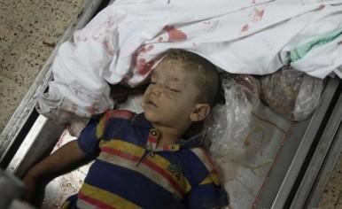 Żydowska zemsta trwa - 2-letni Mohammed Malaka zamordowany w izraelskim nalocie 9 lipca 2014